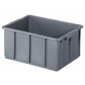 Cassa industriale - l.50  60x37 h.29 - grigio