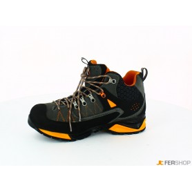 Scarponcino antracite/arancio - tg.46 - mountain tech w3 wp s3