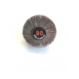 Spazzola abrasiva lamellata - 40x20x6 gr.80