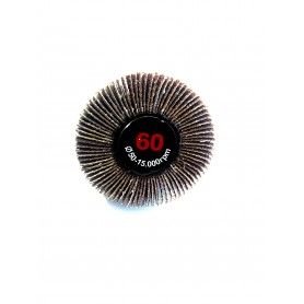 Spazzola abrasiva lamellata - 50x20x6 gr.60