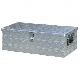 Baule alluminio mandorlato - sx2407 -