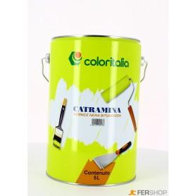 Vernice nera catramina - lt. 5