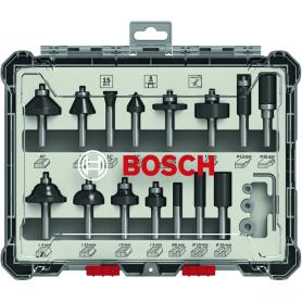 Frese set 15 pezzi BOSCH - mm.8