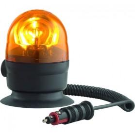 Lampeggiatore rotante - microboule - omologato