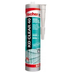 Adesivo sigillante     fischer - kd clear 40 - trasparente