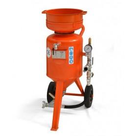 Sabbiatrice cb  60 litri - comando distanza - con corredo