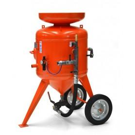 Sabbiatrice cb 215 litri - comando distanza - con corredo 10 mt + casco