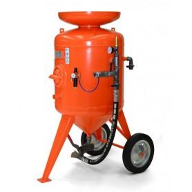Sabbiatrice cb 300 litri - comando distanza - con corredo 20 mt + casco