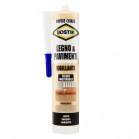 Sigillante legno        bostik - rovere chiaro - ml.300 riempitivo
