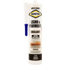 Sigillante legno        bostik - larice bianco - ml.300 riempitivo