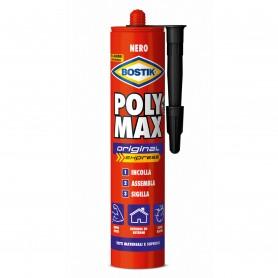 Bostik poly max express - gr.425 cartuccia - nero