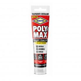 Bostik poly max high tack - gr.115 tubetto - trasparente