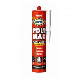 Bostik poly max high tack - gr.425 cartuccia - bianco