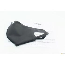 Mascherina tessuto lavabile - nera - alta qualità