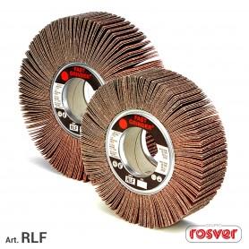 Ruota lamellare - rlf-d.100-gr.120 - rosver-f.19