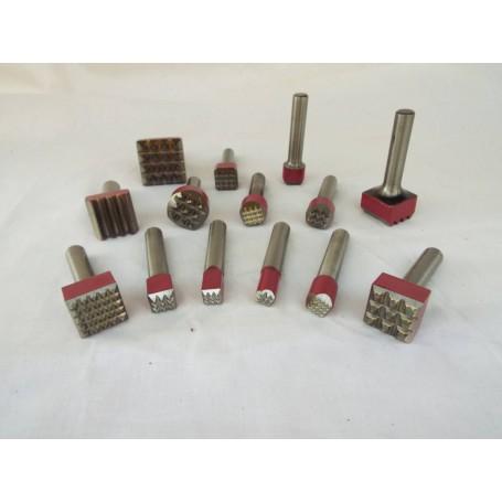 Bocciarda per martello cuturi - 16 x 16 16 punte - attacco 7,5