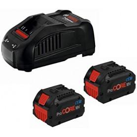 Batterie 2 pz-8ah + caricatore - gal 1880 cv 18v - click & go