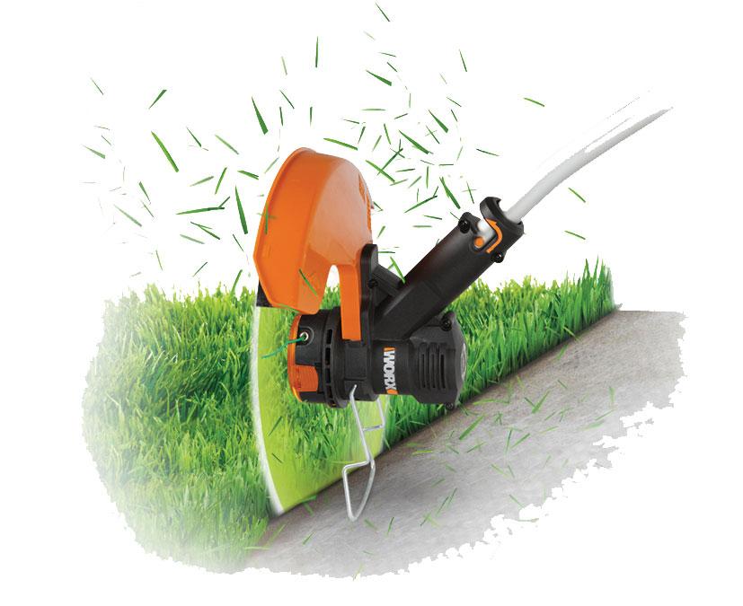 coupe herbe lectrique bosch id al pour finir les bords de votre pelouse. Black Bedroom Furniture Sets. Home Design Ideas