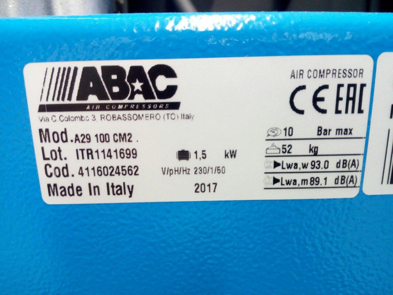 Abac 100 lt 5