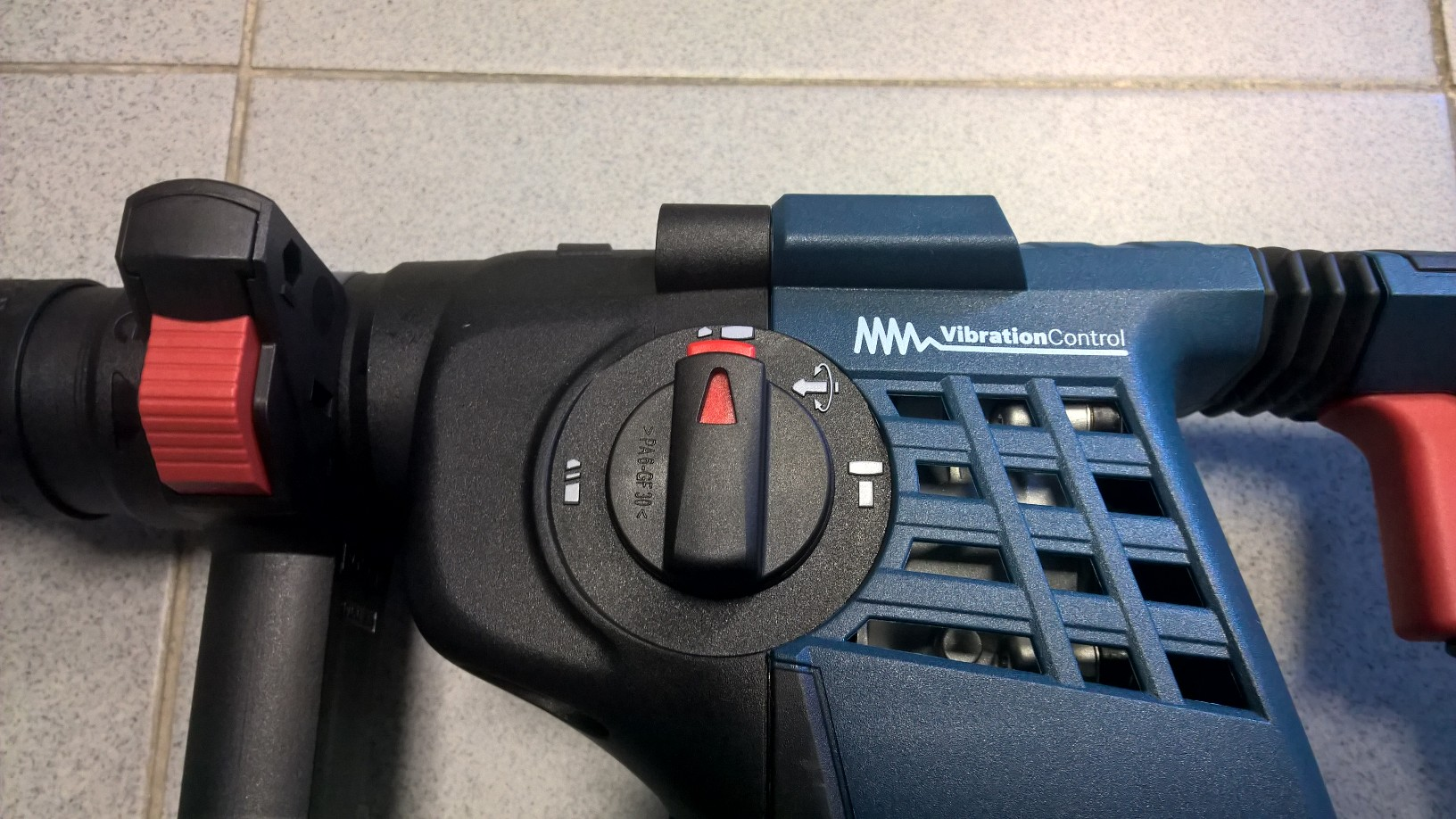 Selector de martillo perforador Bosch batería